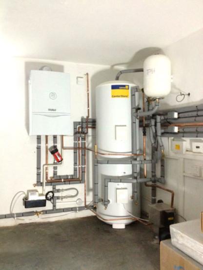 Boiler-cylinder