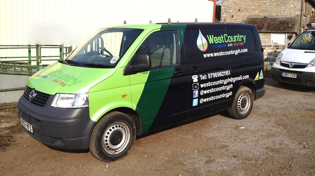 Gloucestershire-Plumbing-Services-Van