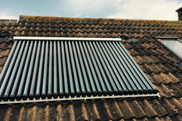 Solar Feature Installation 1