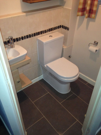 Hillsley, Wotton-Under-Edge Plumber job