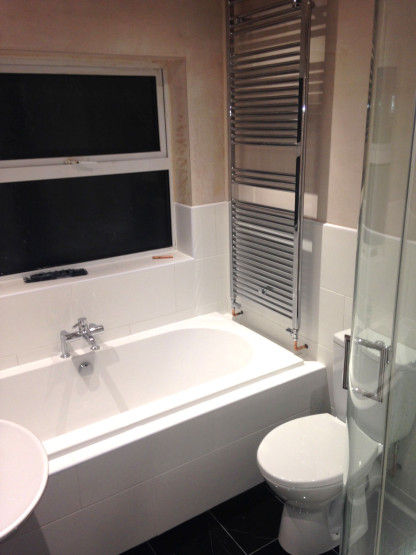 Shower and toilet installed in Gloucestershire
