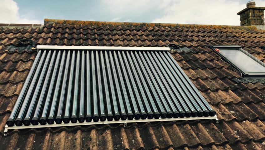 Solar Feature Installation 1